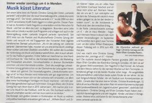 Sankt Augustiner Stadtmagazin Bericht