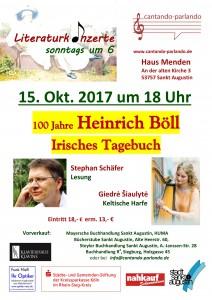 Plakat Heinrich Böll